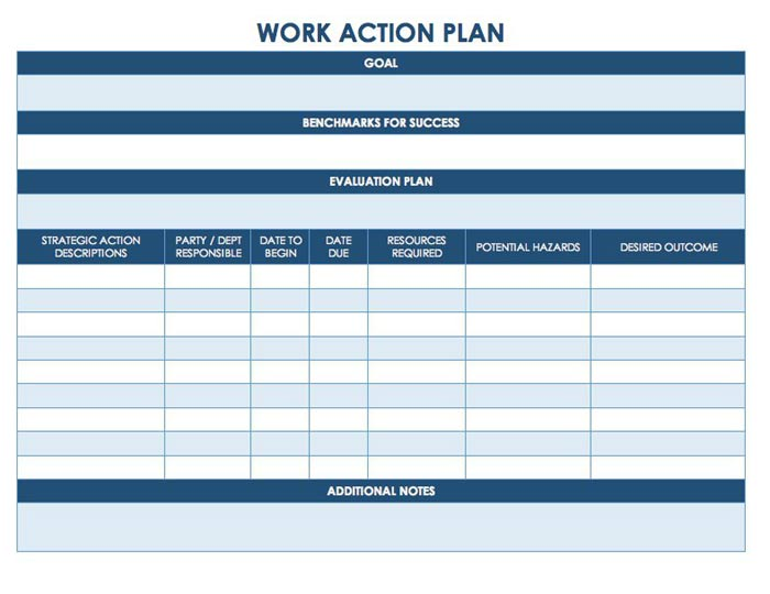 Free Project Management Work Plan Template In Sharepoint