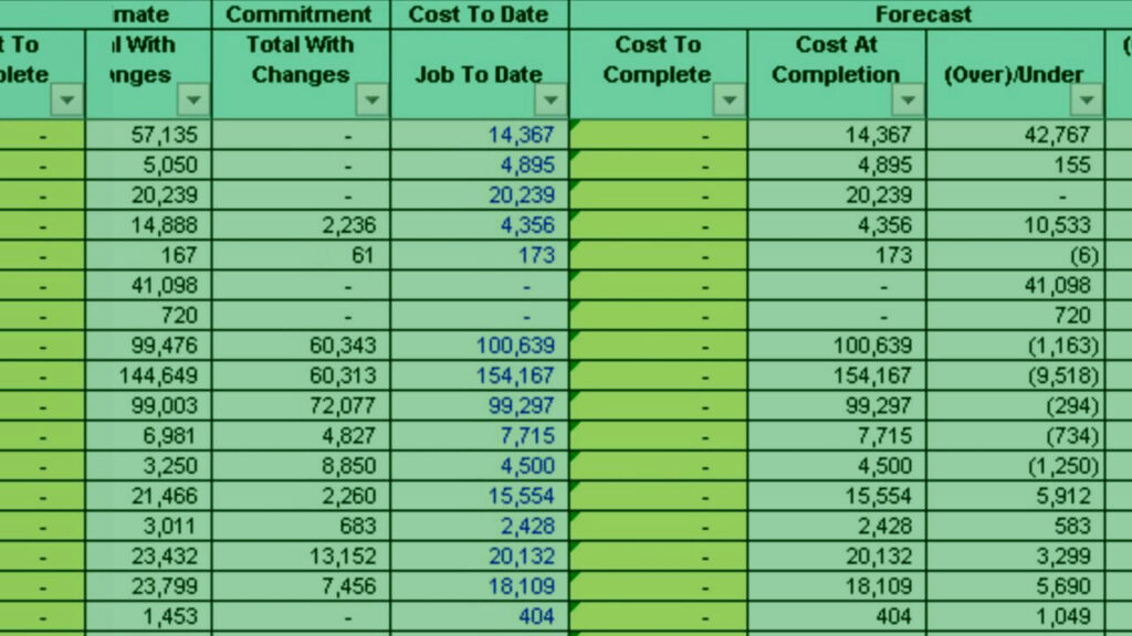 Construction-Job-Costing