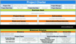 PMI Project Charter Template