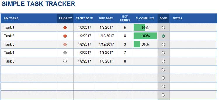 Simple Task Tracker